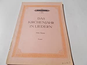 Das Kirchenjahr in Liedern: Hohe Stimme (The Liturgical Year in Songs: High Voice) (Edition Peters ...