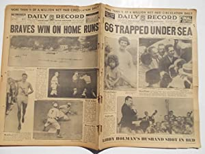 Daily Record (Friday, July 8, 1932): Boston's Home Picture Newspaper (Cover Headline: 66 ...