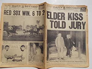 Daily Record (Saturday, July 24, 1937): Boston's Home Picture Newspaper (Cover Headline: [...