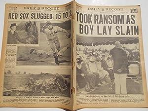 Daily Record (Saturday, June 11, 1938 FINAL EDITION): Boston's Home Picture Newspaper (Cover ...
