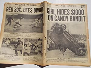 Daily Record (Monday, June 13, 1938): Boston's Home Picture Newspaper (Cover Headline: GIRL ...