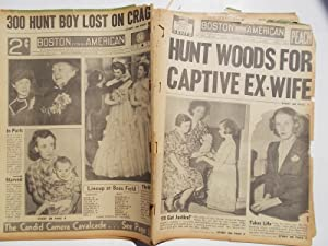 Boston Evening American (Wednesday, July 19, 1939) Newspaper (Cover Headline: HUNT WOODS FOR ...