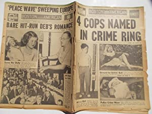 Boston Evening American (Friday, July 21, 1939 SUNSET EDITION) Newspaper (Cover Headline: 4 COPS ...