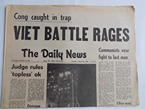 The [Inglewood] Daily News (Saturday, January 29, 1966) Newspaper (Cover Headline: VIET BATTLE ...