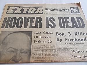 Los Angeles Herald Examiner Newspaper (Tuesday, October: Los Angeles Herald