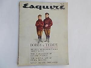 Esquire: The Magazine for Men (April 1962): Gingrich, Arnold (Publisher)