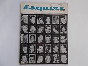 Esquire: The Magazine for Men (January 1963): Gingrich, Arnold (Publisher)