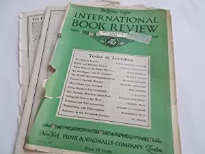 The Literary Digest International Book Review (October: Funk & Wagnalls