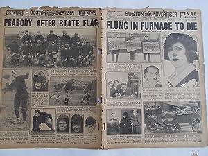 Boston Daily Advertiser - Boston Record (Wednesday, November 19, 1924) Newspaper (Cover Headline: ...