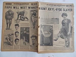 Boston Daily Advertiser - Boston Record (Tuesday, November 25, 1924) Newspaper (Cover Headline: ...