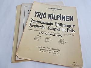 Tunturilauluja / Fjallsanger / Fjeldlieder / Songs of the Fells: Op. Opus 54 (Sheet ...