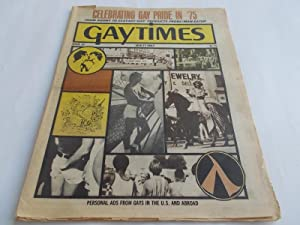 Gaytimes (Gay Times) (Issue No. 33 1975) (Gay Vintage Newspaper Male Nude Photos): Robert Leighton ...