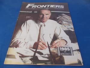 Frontiers (Vol. Volume 4 Number No. 22, January 8-22, 1986) Gay Newsmagazine News Magazine
