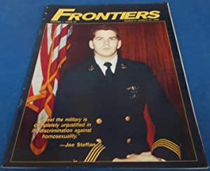 Frontiers (Vol. Volume 7 Number No. 23, March 8-22, 1989) Gay Newsmagazine News Magazine (Cover P...