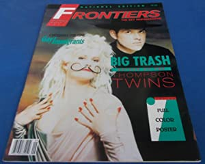 Frontiers (Vol. Volume 8 Number No. 22, March 2, 1990): The Gay Newsmagazine (News Magazine) (Cov...