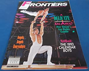 Frontiers (Vol. Volume 11 Number No. 12, October 9, 1992): The Nation's Gay Newsmagazine (News Ma...