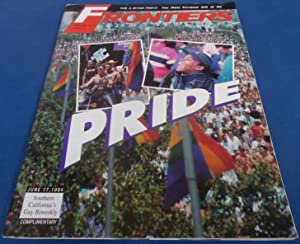 Frontiers (Vol. Volume 13 Number No. 3, June 17, 1994) Gay Newsmagazine News Magazine (Cover Stor...