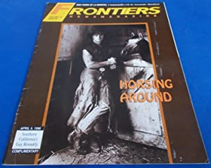 Frontiers (Vol. Volume 14 Number No. 24, April 5, 1996) Gay Newsmagazine News Magazine (Cover Sto...