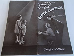 What of Lawful Birth Control?