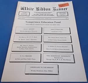 White Ribbon Banner (April 1937): Official Organ of The Woman's Christian Temperance Union of Con...