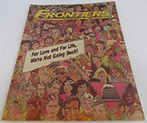 Frontiers (Vol. Volume 6 Number No. 11, September 23-October 7, 1987) Gay Newsmagazine Magazine