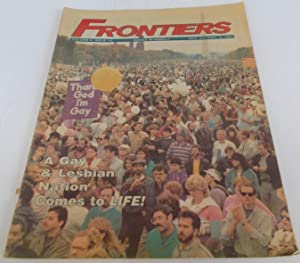 Frontiers (Vol. Volume 6 Number No. 13, October 21-November 4, 1987) Gay Newsmagazine Magazine
