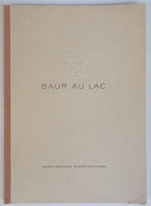 Baur Au Lac Hotel (Wine List Catalogue): Besitzer: Familie Kracht,