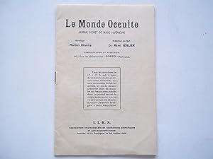 Le Monde Occulte (Janvier January 1924): Journal Secret De Magie Superieure: Oliveira, Martins (...