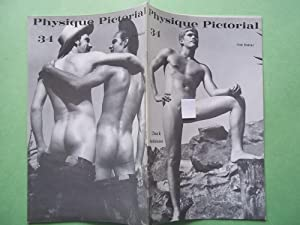 Physique Pictorial (Volume #34 October 1980) Gay: Bob Mizer and