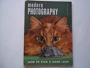 Modern Photography (May 1952) Magazine: Jacquelyn Judge (Editor), Everett Gellert (Publisher), and ...