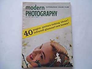 Modern Photography (July 1955) Magazine: Jacquelyn Judge (Editor), Everett Gellert (Publisher), and...