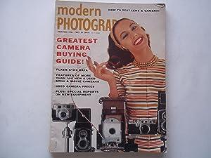 Modern Photography (December 1956) Magazine: Jacquelyn Judge (Editor), Everett Gellert (Publisher),...