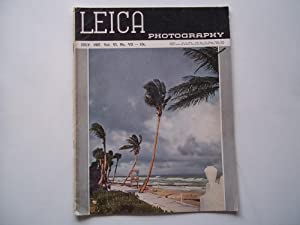 Leica Photography (July 1937) Magazine: Augustus Wolfman and George W. Hesse (Editors) and E. Leitz...