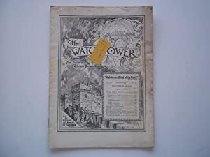 The Watchtower And Herald of Christ's Presence (Vol. LV No. 18 September 15, 1934)