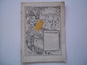 The Watchtower And Herald of Christ's Presence (Vol. LV No. 22 November 15, 1934)