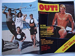 OUT! (Issue No. 100, December 1991-January 1992): New Zealand's Alternative Lifestyle (Gay Magazine)