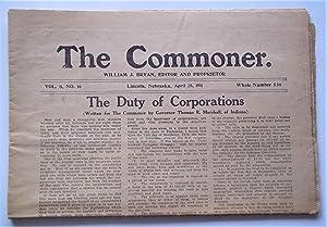 The Commoner (Vol. 11 No. 16, Whole No. 536, April 28, 1911) (Lincoln, Nebraska Newspaper): Bryan, ...
