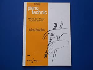 Piano Technic: Level Six (Music Instruction Book) (David Carr Glover Piano Library): Glover, David ...