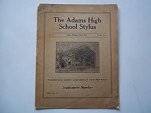 The Adams High School Stylus (No. 4 March 1918) (Adams, Nebraska): Adams High School (Adams, ...