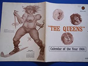 The Queens: Calendar Of The Year 1966 (Female Nude Camp Art Risque): GSN and Tri-S Publications