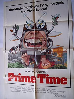 Prime Time (Original Movie Poster): Cannon Releasing Corporation, Bradley R. Swirnoff (Directed By)...