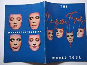 The Manhattan Transfer 1981 World Tour Book (Concert Tour)