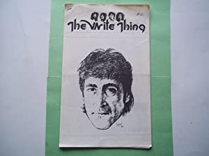 The Write Thing #41 (October-November 1983): An International Beatles Fan Club (Newsletter Magazi...