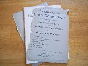 The Office for the Holy Communion (1.: William Byrd (Composer)