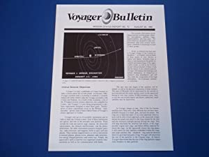Voyager Bulletin: Mission Status Report No. 70 (August 20, 1985)
