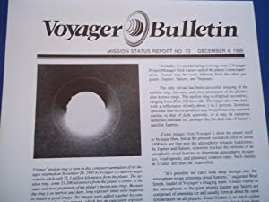 Voyager Bulletin: Mission Status Report No. 73 (December 4, 1985)