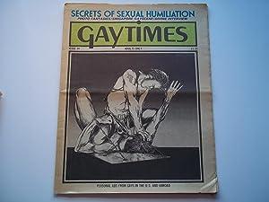 Gaytimes (Gay Times) (Issue No. 34 1975): Robert Leighton (Editor)