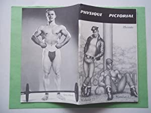Physique Pictorial (Volume 17 #1 1968 -: Bob Mizer and