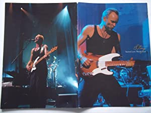 Sting - Sacred Love World Tour (2004 Concert Tour Program)