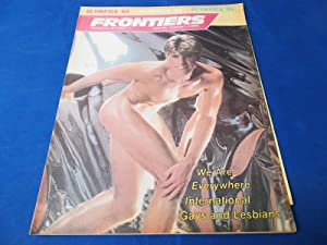 Frontiers (Vol. Volume 3 Number No. 11, July 25-August 1, 1984) Gay Newsmagazine News Magazine